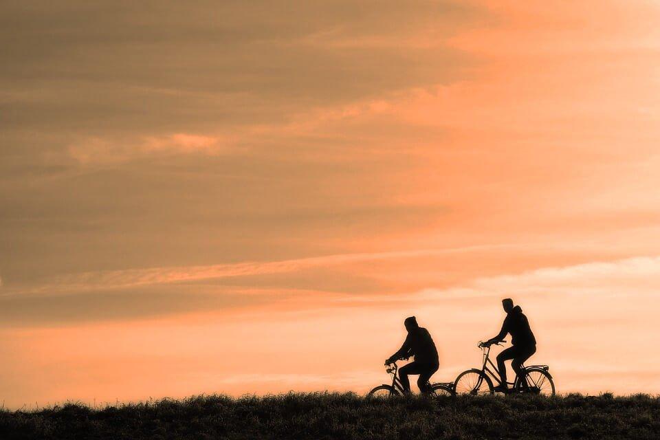 Cyclists enjoying Ottawa retirement living.